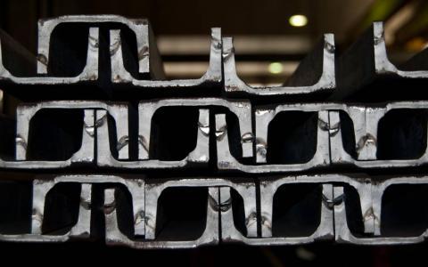 Perfil estructural de hierro IPN